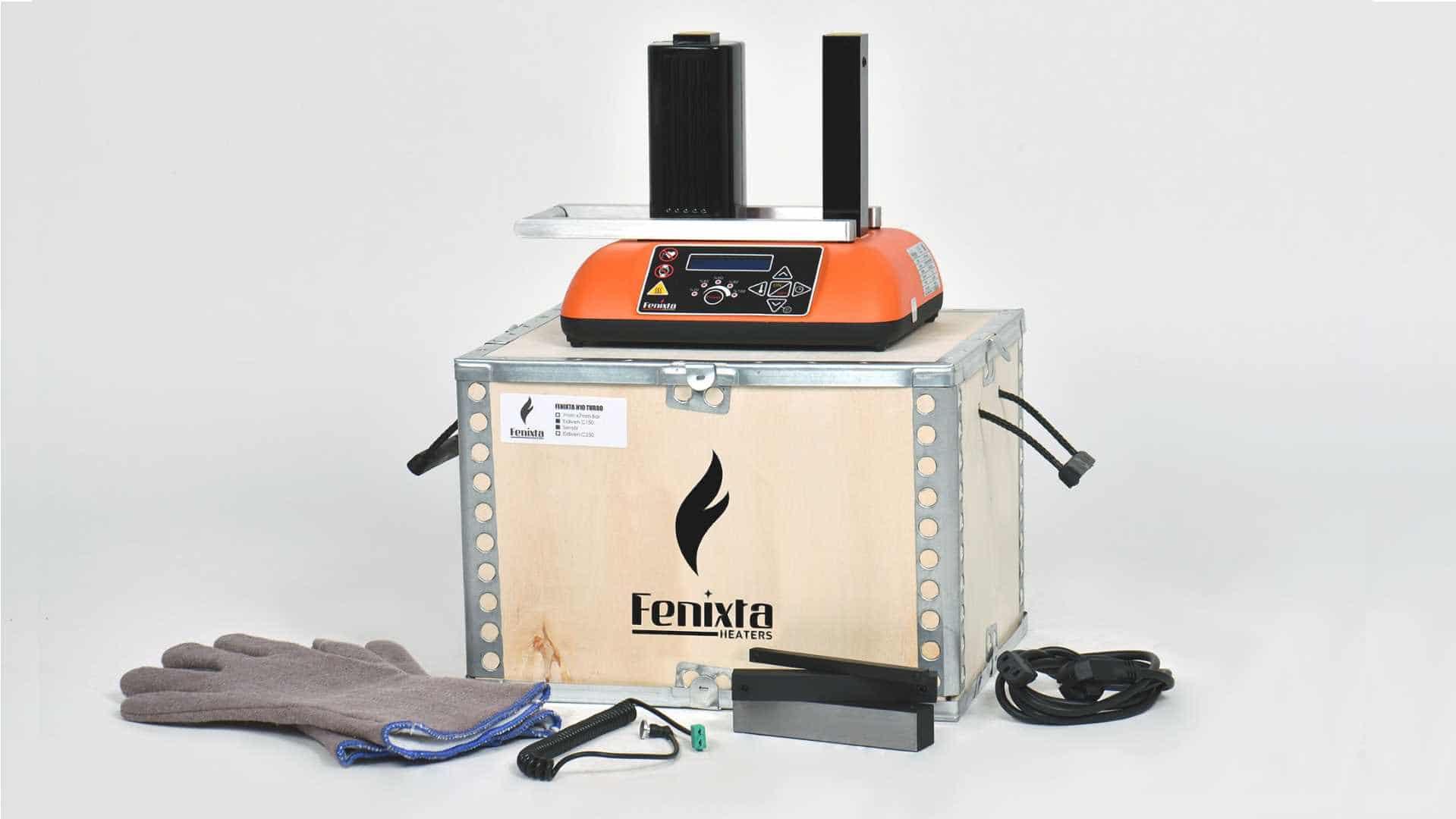 Fenixta H10 turbo rulman ısıtma cihazı kutu içeriği